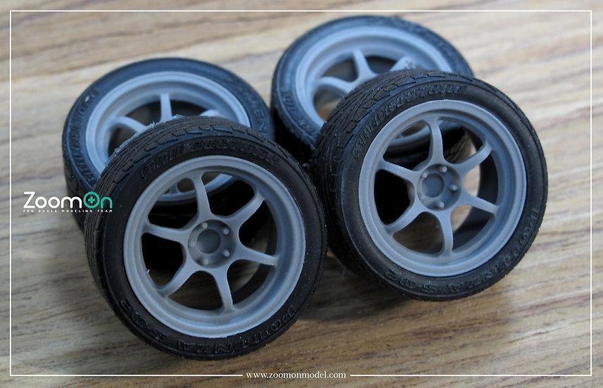 ZR065 Advan Racing RG2 rim set