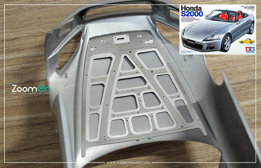 ZD133 Honda S2000 hood structure