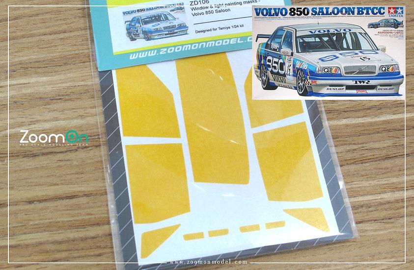 ZD106 Window & light painting masks -  Volvo 850 Saloon