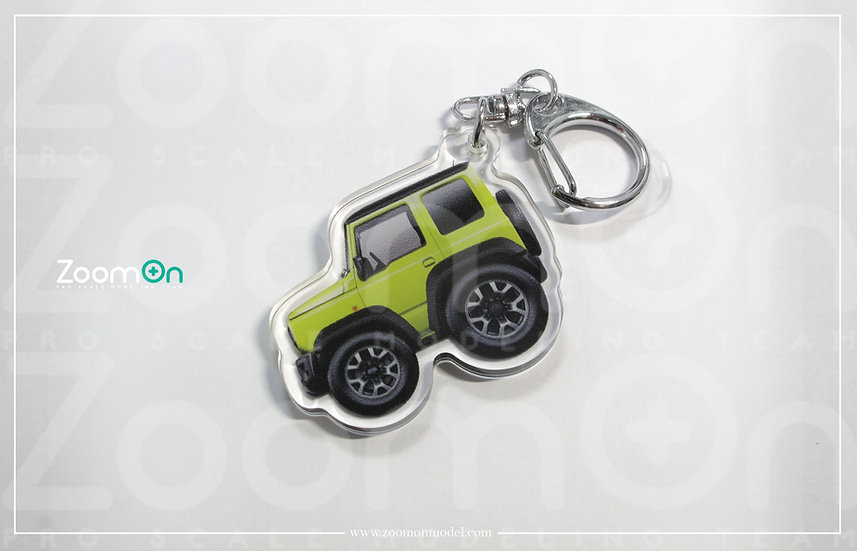 ZA021 Suzuki Jimny 4th gen Q Keychain