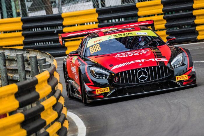 SK24082 Mercedes AMG GT3 FIA World Cup Macau #888 M.Engel
