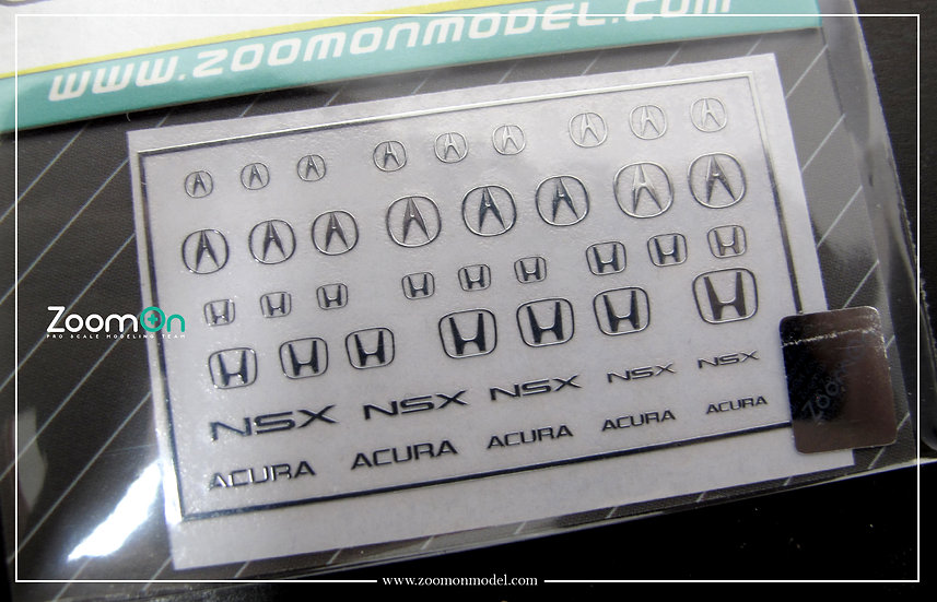 ZD029 Honda & Acura logo metal sticker
