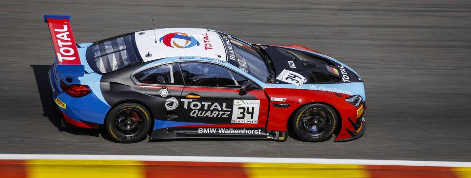 SK24085 BMW M6 GT3 Spa 24H 18 Walkenhorst #34