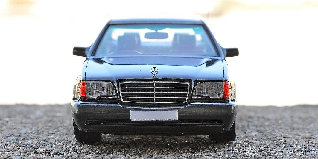 1/24, taimiya, Mercedes-benz S320, zoomon, zoomonmodel