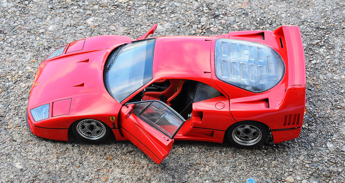 1/24 Tamiya F40, zoomon, zoomonmodel, F40, model car, tamiya, 1/24