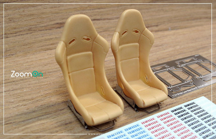 Z052 Bride low max vios bucket seat