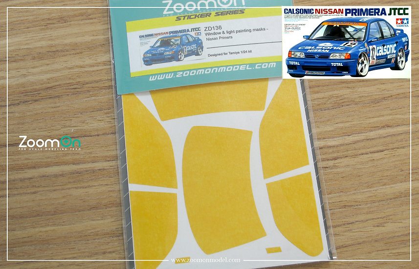 ZD136 Window & light painting masks - Nissan Primera