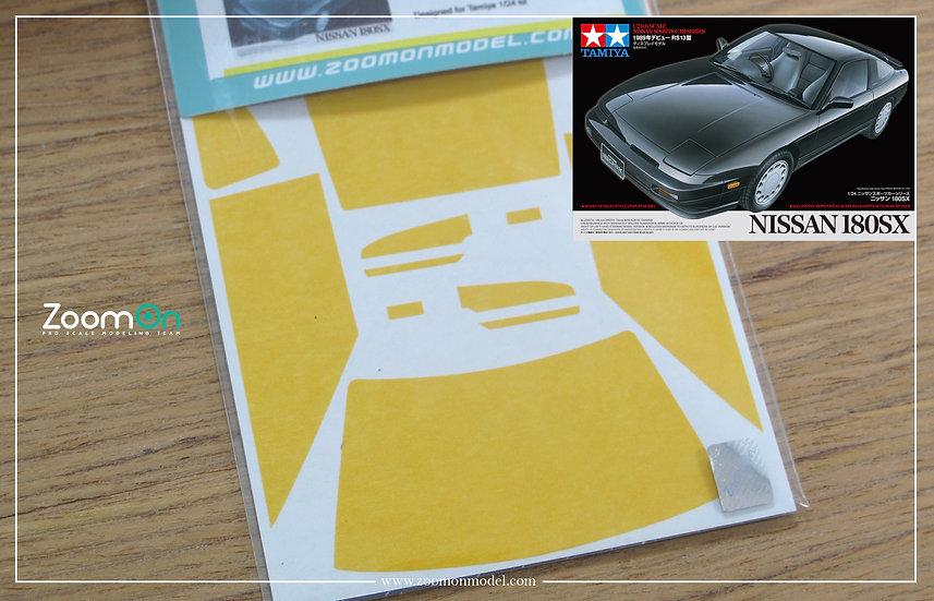 ZD071 Window & light painting masks - Nissan 180SX