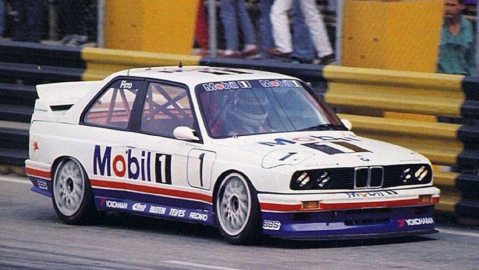 SK24052 BMW E30 M3 Macau Guia 92 Mobil 1 Decal Set
