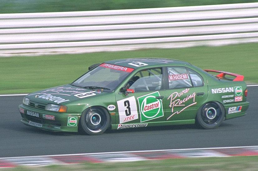SK24132 Nissan Primera JTCC 1994 Hasemi Motorsport Instruction