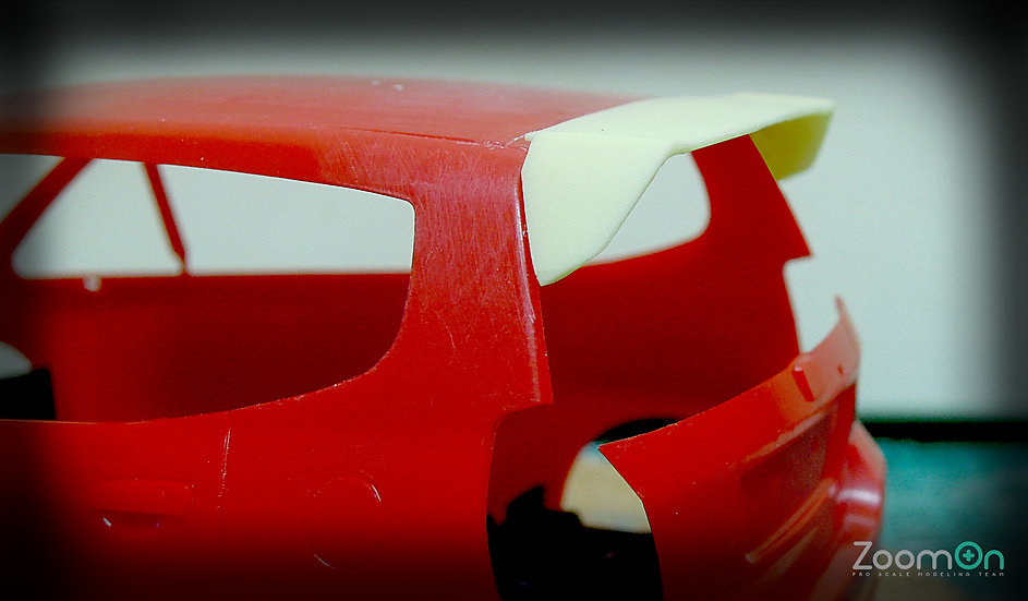 Z007 1/24 Vtec OEM Spoiler For Honda Jazz