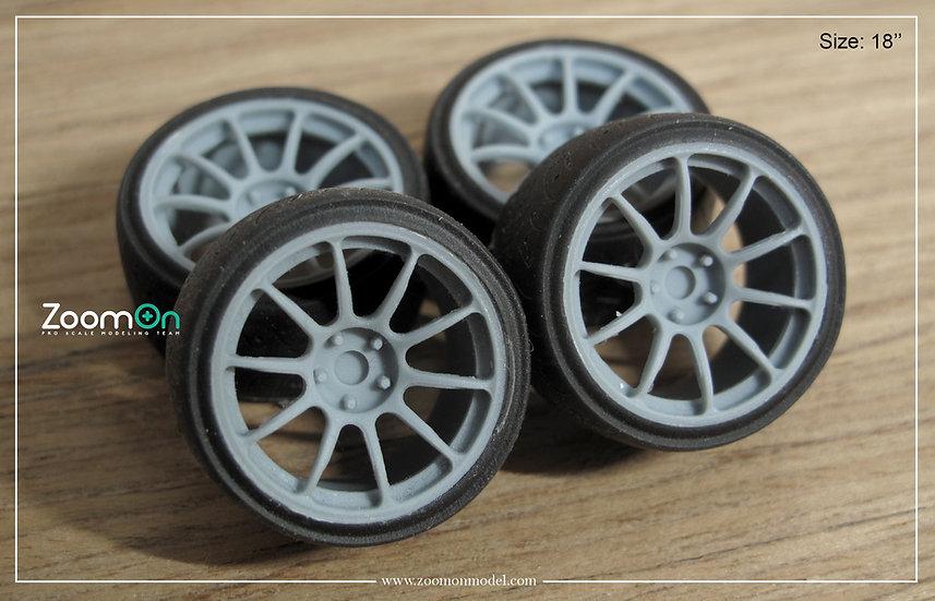 ZR059 Rays ZE40 rim set