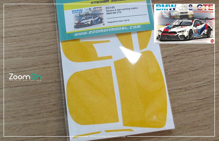 ZD140 Window & light painting masks - BMW M8 GTE