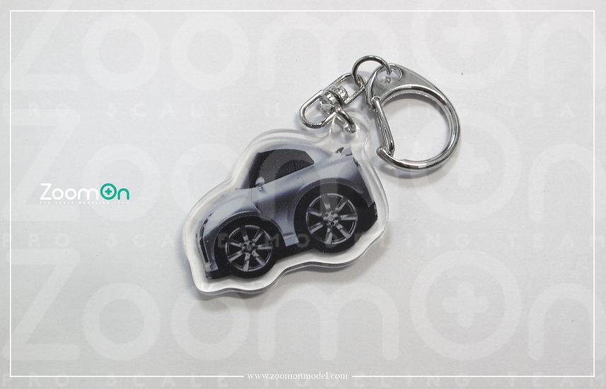 ZA004 Nissan GTR 35 Q Keychain