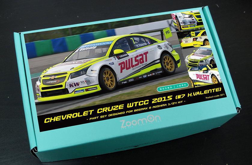 Z071 CHEVROLET CRUZE WTCC 2015 (#7 H.Valente)