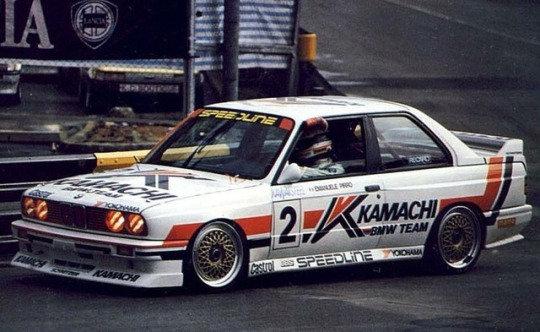 SK24049 BMW E30 M3 Macau Guia 89 Kamachi Decal Set