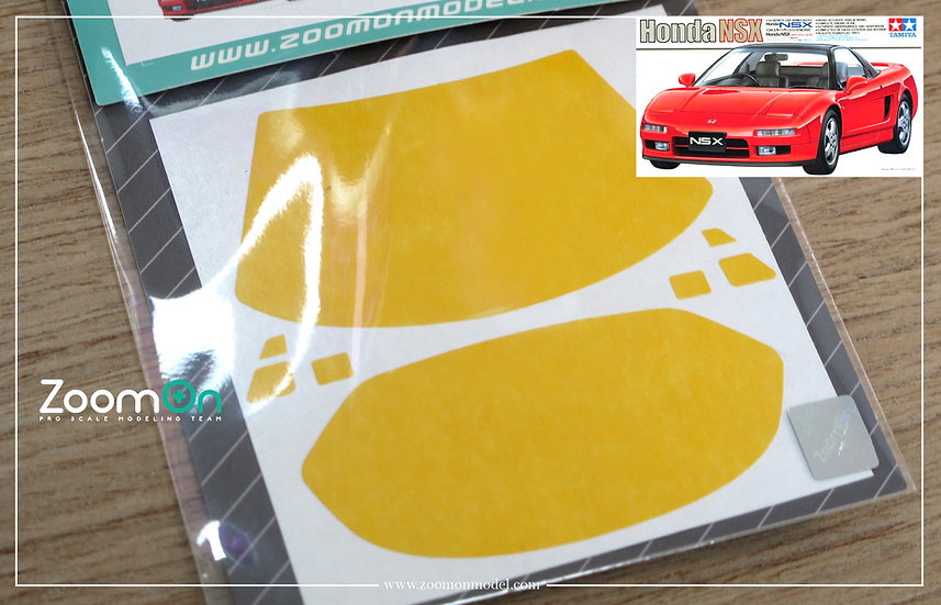 ZD046 Window & light painting masks - Honda NSX