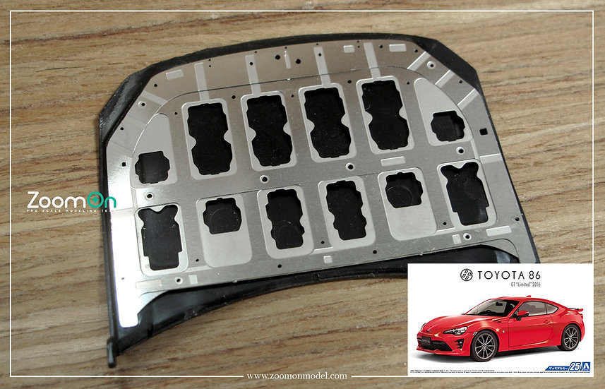 ZD134 Toyota 86 hood structure