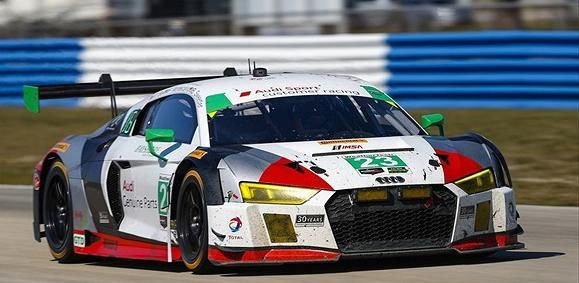 SK24120 Audi R8 LMS GT3 Alex Job Racing Team sponsored by Tommie Copper
