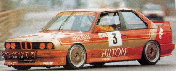 SK24048 BMW E30 Macau Guia 87~88 Hilton Decal Set