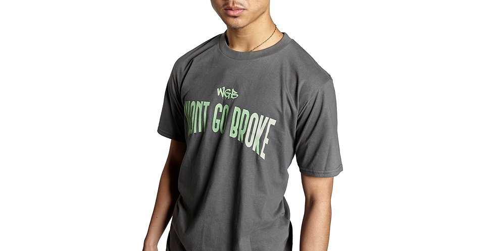 WGB OG T-Shirt Grey/Lime