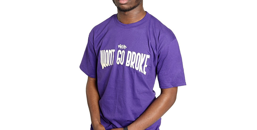 WGB OG T-Shirt Purple/White
