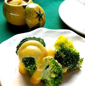柚味噌とお野菜