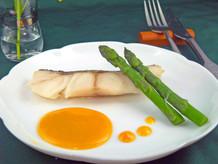 白身魚のムニエルのソース