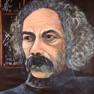 Portrait of Ralph Hotere