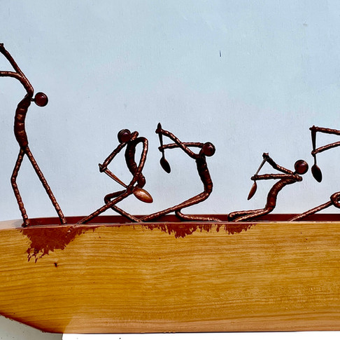 Six Paddlers