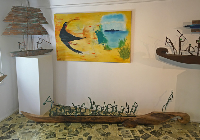 Corner aspect of gallery