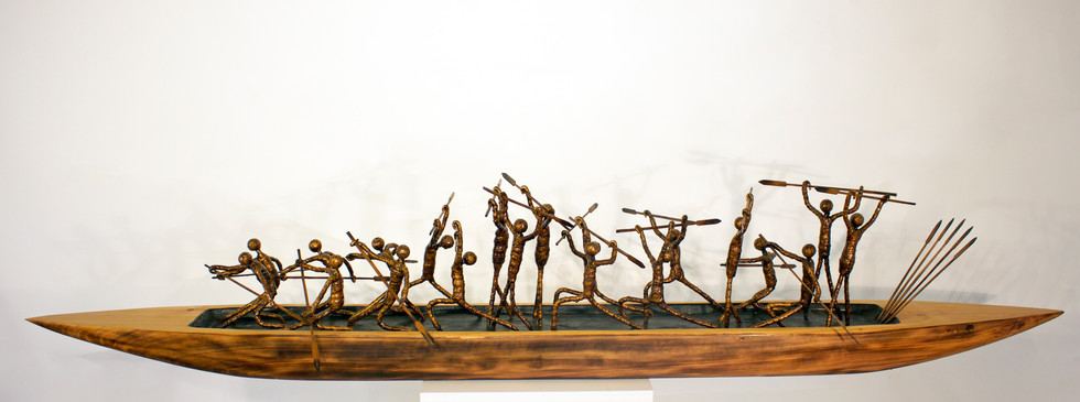 We're all in the same boat  NZ art