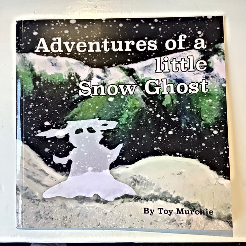 Children's book,Adventures of a little Snow Ghost