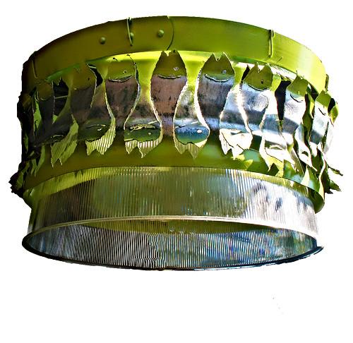 Fish lamp shade