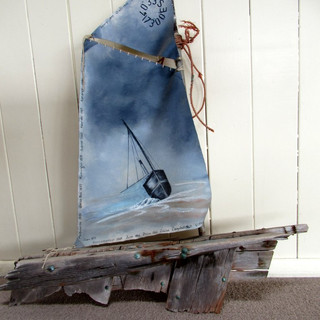 Early sailing vessel