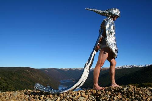 I am storm of progress man on a mountain
