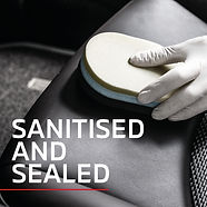 Cleaning seat with sponge