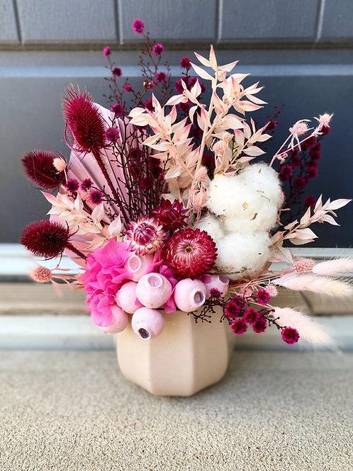 Everlasting Dried Vase Arrangement