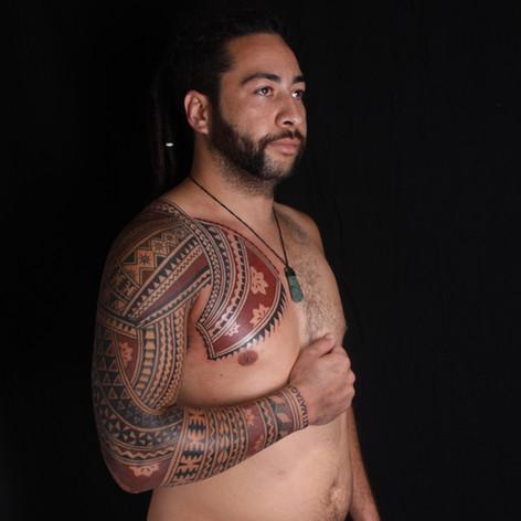 Polynesian Fijian Tatau