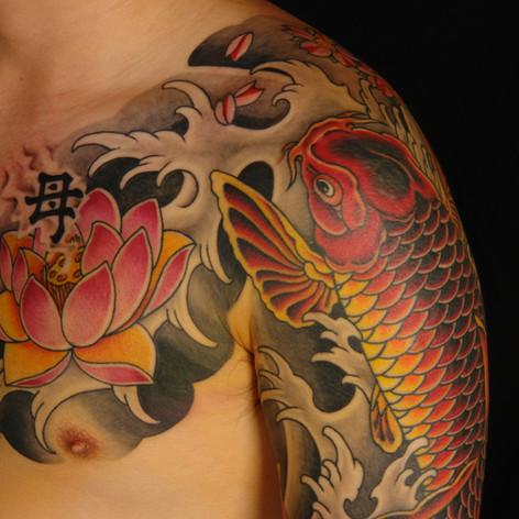 Japanes Koi Tattoo