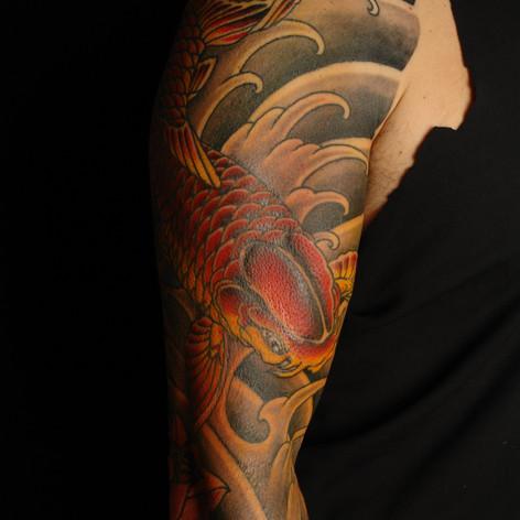 Japanese Koi Tattoo