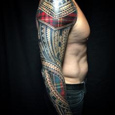 Polynesian Scottish Tatau