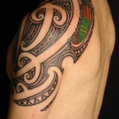 Maori Scottish Tattoo