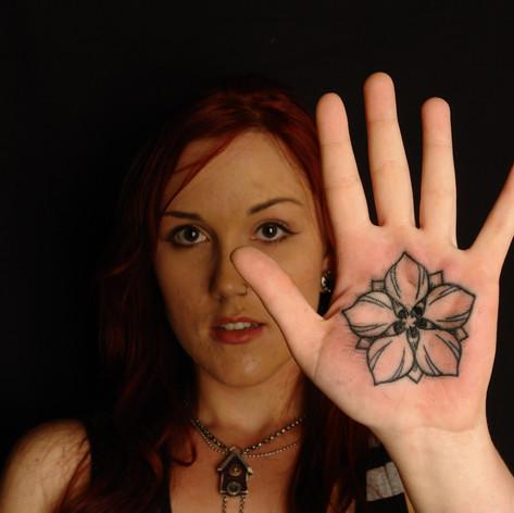 Palm Of Hand Tattoo