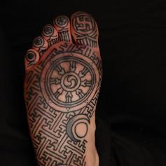 Soul Of Foot Tattoo
