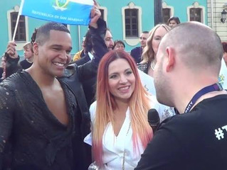 Eurovoxx live at the red carpet with San Marino, Serbia and Portugal