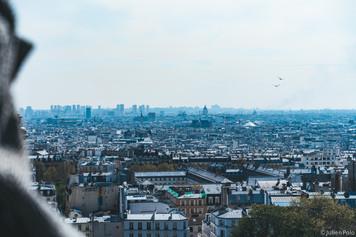 Vue sur les Toits de Paris (Parvis du Sacré-Coeur)