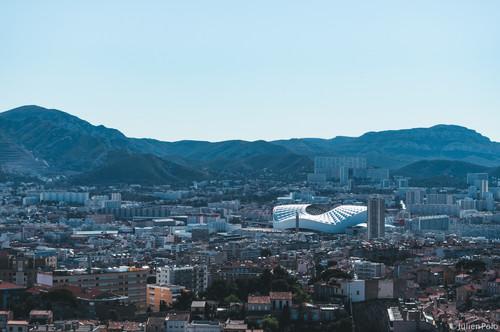 Stade Vélodrome (Vue Bonne Mère)
