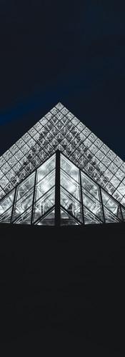 Le Louvre by night - Paris