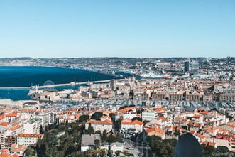 Marseille Vieux Port (Vue Bonne Mère)